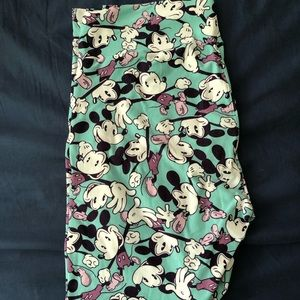 LuLaRoe Disney Mickey leggings